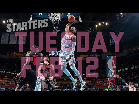 Video: NBA Daily Show: Feb. 12 - The Starters