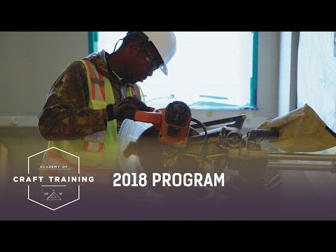 ACADEMY OF CRAFT TRAINING : 2018 PROGRAM