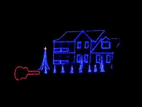 2011 blue christmas porky pig brown family christmas light show hd - Porky Pig Blue Christmas