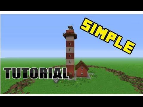 Minecraft Light House Tutorial