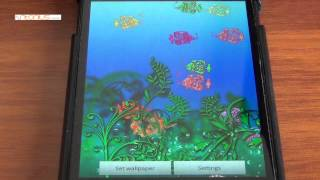 aquarium glam live wallpaper YouTube video
