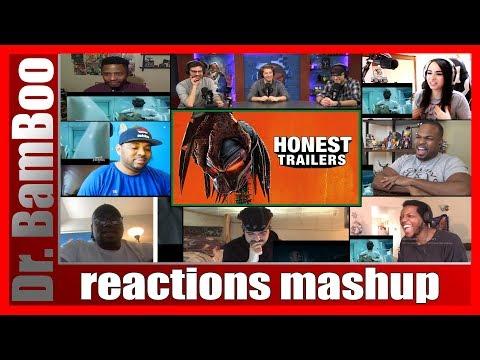 Honest Trailers: The Predator (2018) REACTIONS MASHUP