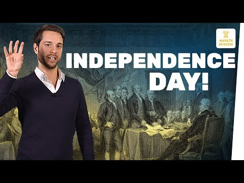Independence Day (USA) - Amerika wird unabhängig I mu ...