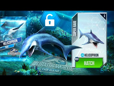 HELICOPRION PACK UNLOCK HELICOPRION 999+| JURASSIC WORLD THE GAME