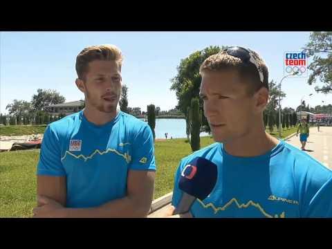 Jakub Špicar a Patrik Kučera nečekaně postoupili do finále deblkajaku
