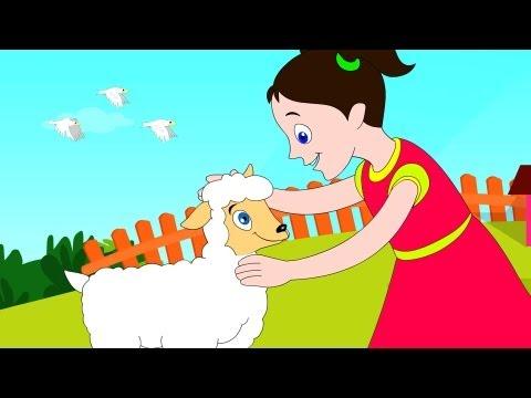 Mary had a Little Lamb- Nursery Rhyme with Lyrics