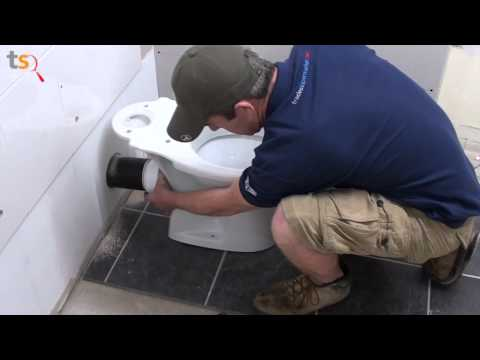 Tommy's Trade Secrets - How to Install a Toilet Pan & Cistern
