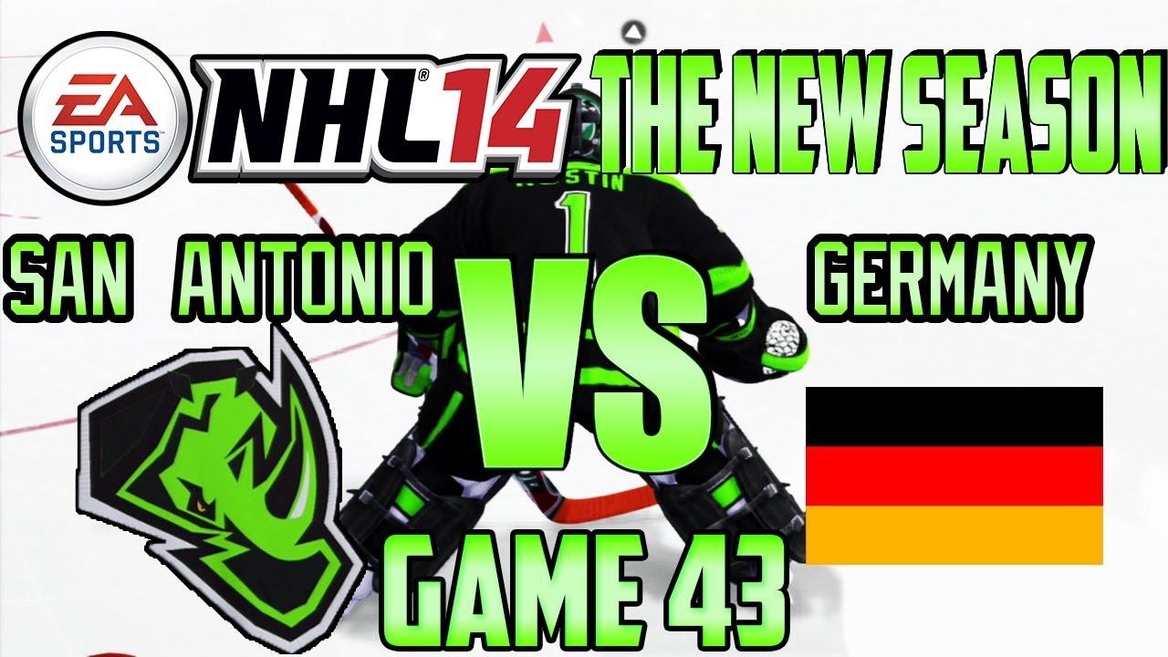 "NHL 14 – The New Season (Renegades) #43: ""Team Germany"""