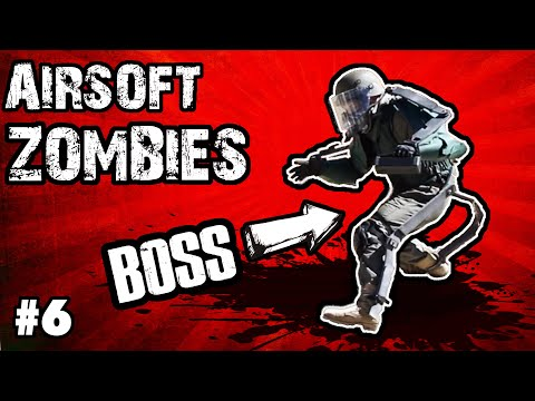AIRSOFT ZOMBIES | APOCALYPSE Episode 3 | Swamp Sniper