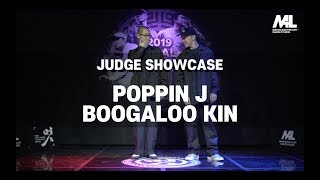 Poppin J, Boogaloo Kin & (Jaygee & Hozin) – 멋 2019 FINAL JUDGE SHOWCASE