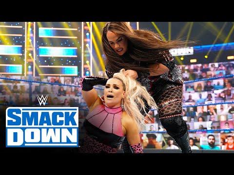 Tamina & Natalya vs. Jax & Baszler – WWE Women's Tag Team Title Match: SmackDown, May 14, 2021