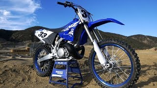 8. First Ride 2018 Yamaha YZ250 2 Stroke - Motocross Action Magazine