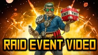 THE OFFICIAL COSMICPVP RAID EVENT VIDEO!