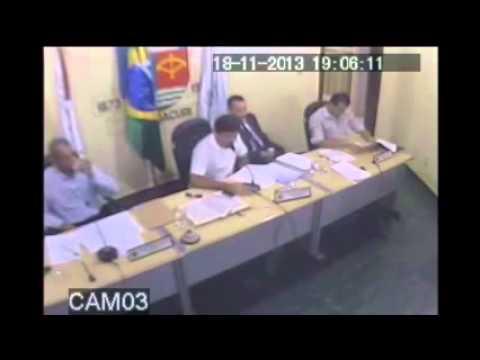 Reunião na Câmara Municipal de Itambacuri Vereador Charbim e Baim
