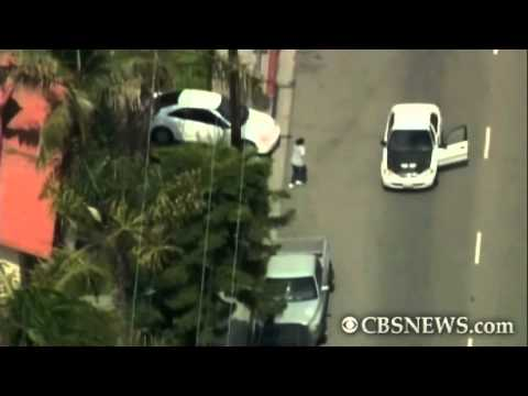 High-speed chase ends in shooting