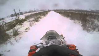 4. Riding my 2015 Arctic Cat ZR6000 Sno Pro Limited