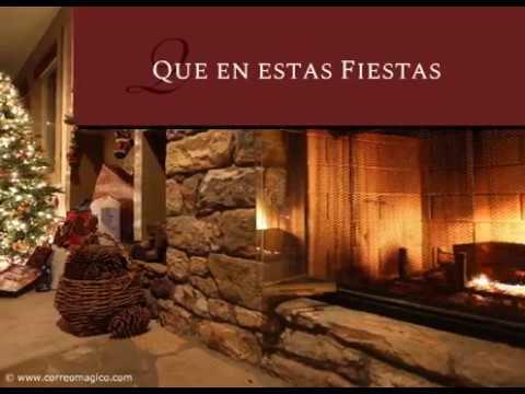 Tarjetas de amor - Tarjeta de Navidad gratis: Alegría, paz y amor en tu hogar