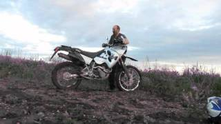 9. KTM 640 Adventure and clay