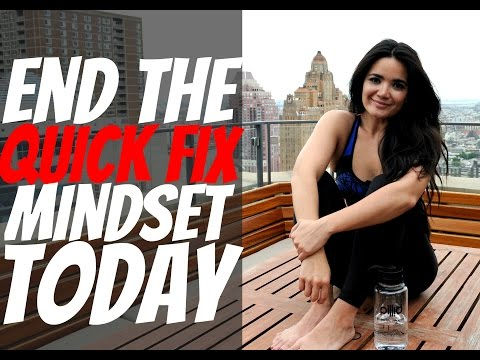 End the Quick Fix Mindset TODAY! | Morning Motivation Ep 6.
