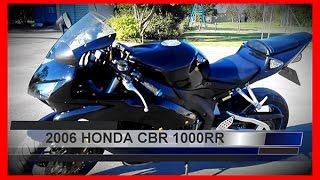 9. 2006 HONDA CBR 1000RR First Ride