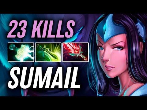 SumaiL • Mirana • 23 kills — Pro MMR