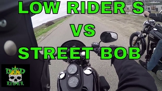 9. Harley Davidson Low Rider S & Street bob test rides