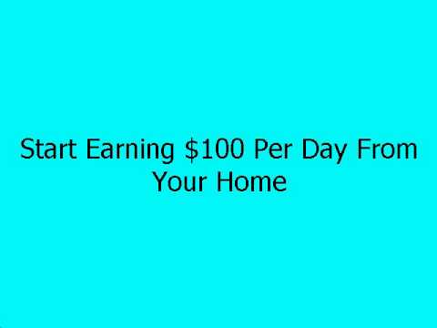 How To Make Money Online – Earn Money From Your Home 2014