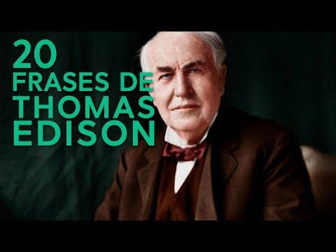 Poemas cortos - 20 Frases de Thomas Edison   El inventor más reconocido