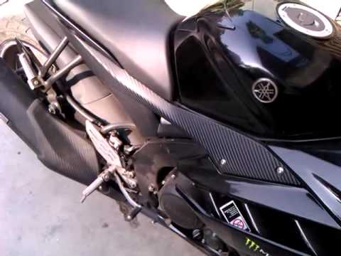 Yamaha R15 Version 2.0 With K&N Air Filter (Sound)