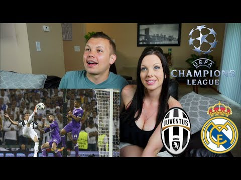 Juventus Vs Real Madrid | All Goals Highlights | The Black Eyed Peas | Celebration Trophy| Reaction