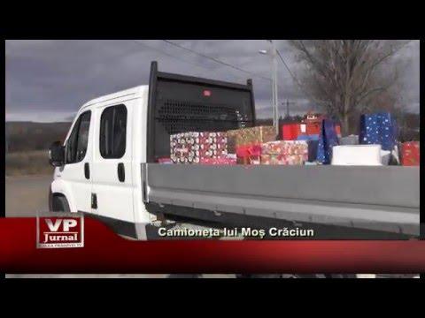 Camioneta lui Mos Craciun