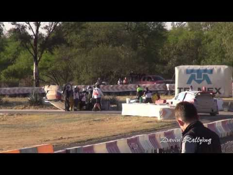 Rally Mexico 2014, Kubica crash (movie)