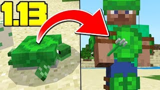 SECRET TURTLE ARMOR DISCOVERED! (Minecraft News Update)