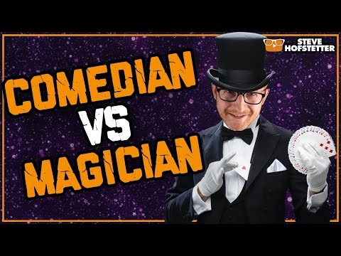 Magician tries to take over comedy show - Steve Hofstetter
