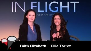 The Fan Carpet's Ellie Torrez spoke EXCLUSIVELY to Faith Elizabeth during the IndieGOGO Crowdfunding Campaign for her new film IN FLIGHT.We also hear from the amazing talent Patrick Ryder, who is Direting on a real working plane.This is a film that MUST be made!Get involved on IndieGOGO at https://www.indiegogo.com/projects/in-flight-help-our-dark-comedy-film-take-off#/Read all about it on The Fan Carpet at http://thefancarpet.com/movie_news/flight-award-winning-filmmaker-patrick-ryder-actress-producer-faith-elizabeth-help-dark-comedy-take-off/