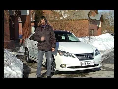 Lexus ES Тест Lexus ES350