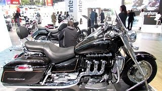 10. 2014 Triumph Rocket III Touring Walkaround - 2013 EICMA Milano Motorcycle Exhibition
