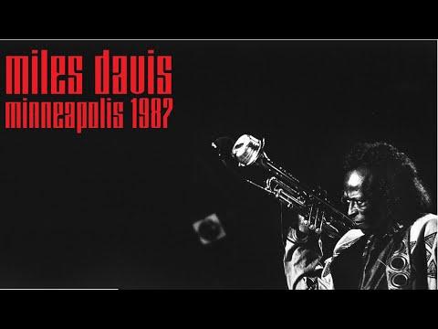 Miles Davis- March 25, 1987 Orpheum Theatre, Minneapolis