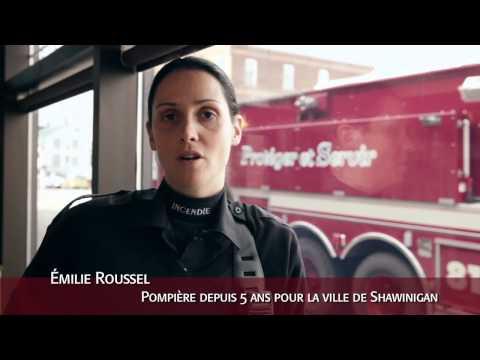 Être pompier à Shawinigan