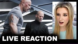 Hobbs & Shaw Trailer REACTION