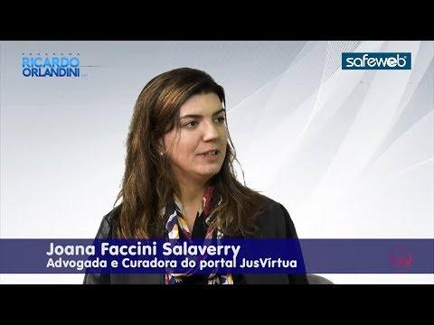 Ricardo Orlandini entrevista a advogada Joana Faccini Salaverry, curadora do JusVirtua