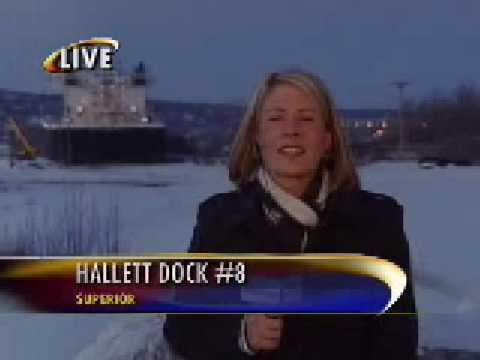 News Reporter Julie Pearce Blooper KBJR Live