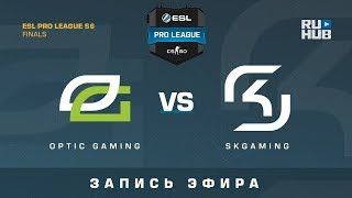 OpTic Gaming vs SK - ESL Pro League Finals - de_mirage [ceh9, CrystalMay]