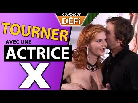 J'ai tourné avec une actrice X