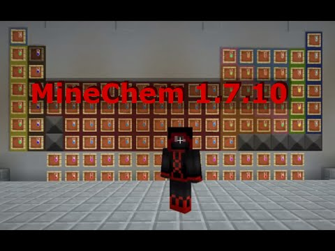 MineChem v5 MC 1.7.10 Mod Spotlight