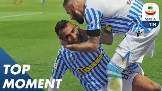 Fares gives Spal the lead | Spal 2-1 Roma | Top Moment | Serie A