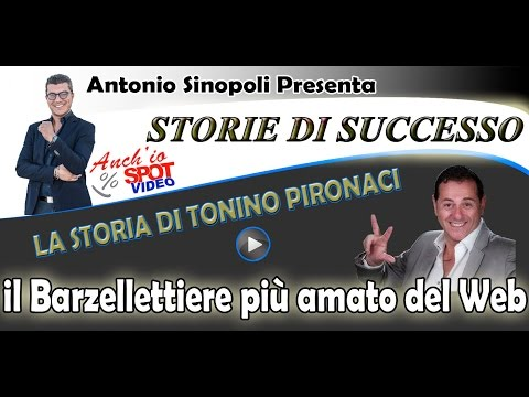 La storia di successo di Tonino Pironaci