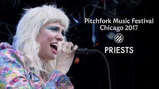 Priests perform in Chicago for Pitchfork Music Festival 2017