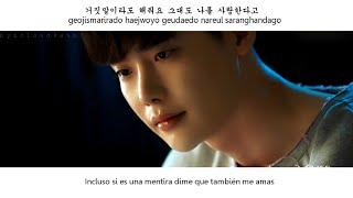 Park Boram - Please say something, even though it is a lie [sub español | hangul | roman] W OST