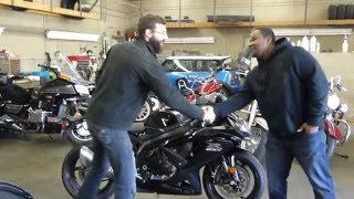 9. 2008 Suzuki GSXR 750 Customer Review